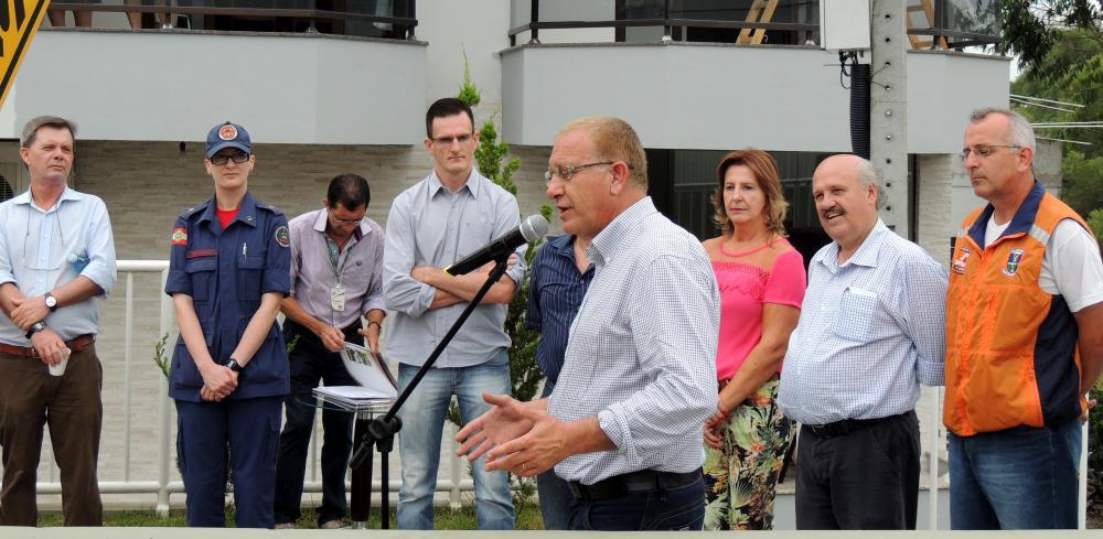 Estação Hidrometeorológica é inaugurada em Ituporanga