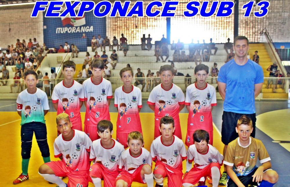 Categoria Sub-13 representará Ituporanga no Campeonato Estadual de Futsal e na Copa Catarinense
