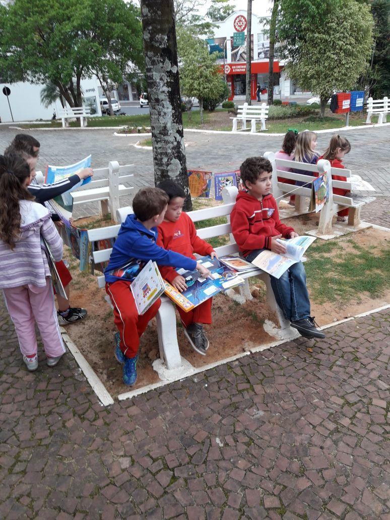 Secretaria de Educação de Ituporanga lança projeto Viajando pela Literatura
