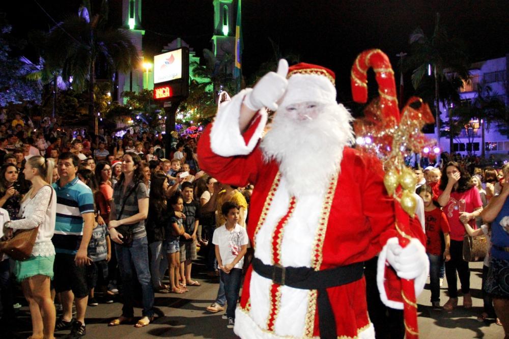 Natal Mágico reúne milhares de pessoas em Ituporanga