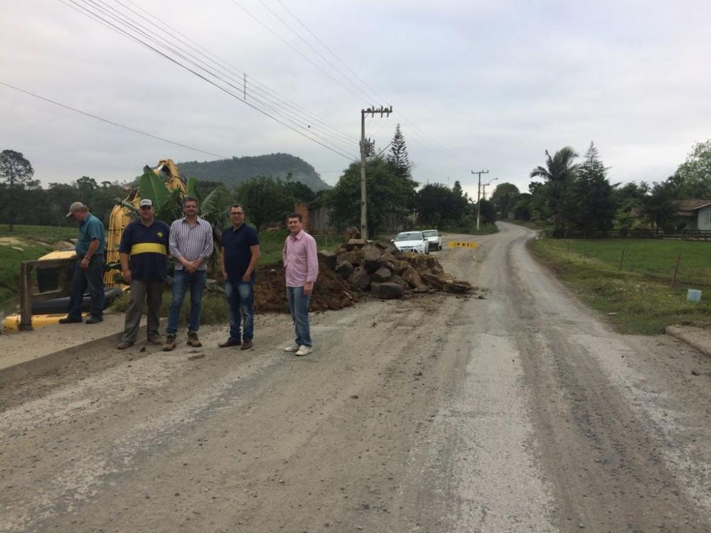 Ituporanga recebe repasse para recuperação de trechos danificados com chuvas de junho