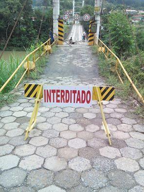 Ponte está interditada em Ituporanga para manutenção