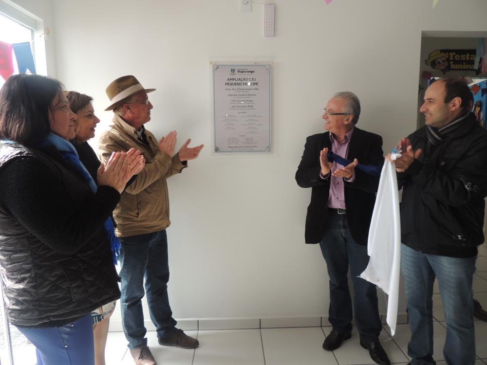 Prefeitura de Ituporanga inaugura obras na Vila Nova