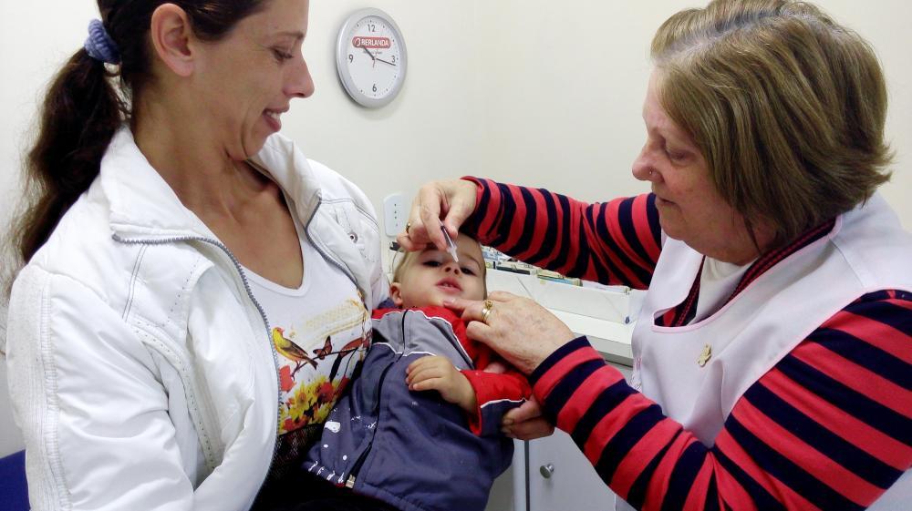 Ituporanga supera meta da campanha de vacinação contra Poliomelite