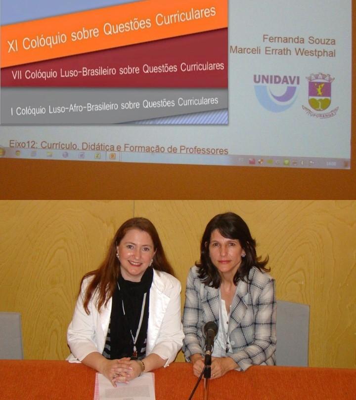 Centro Educacional Bom Pastor e UNIDAVI de Ituporanga são representados em Colóquio em Portugal