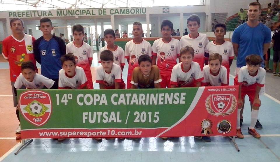 Categoria Sub-13 de Ituporanga vence o Figueirense na Copa Catarinense de Futsal