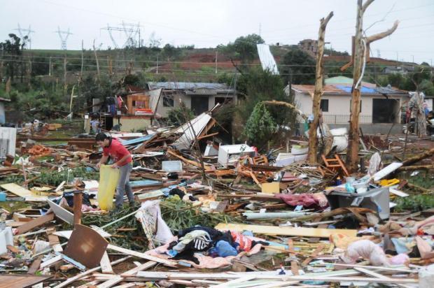 Defesa Civil de Ituporanga participa de campanhas para auxiliar o município de Xanxerê