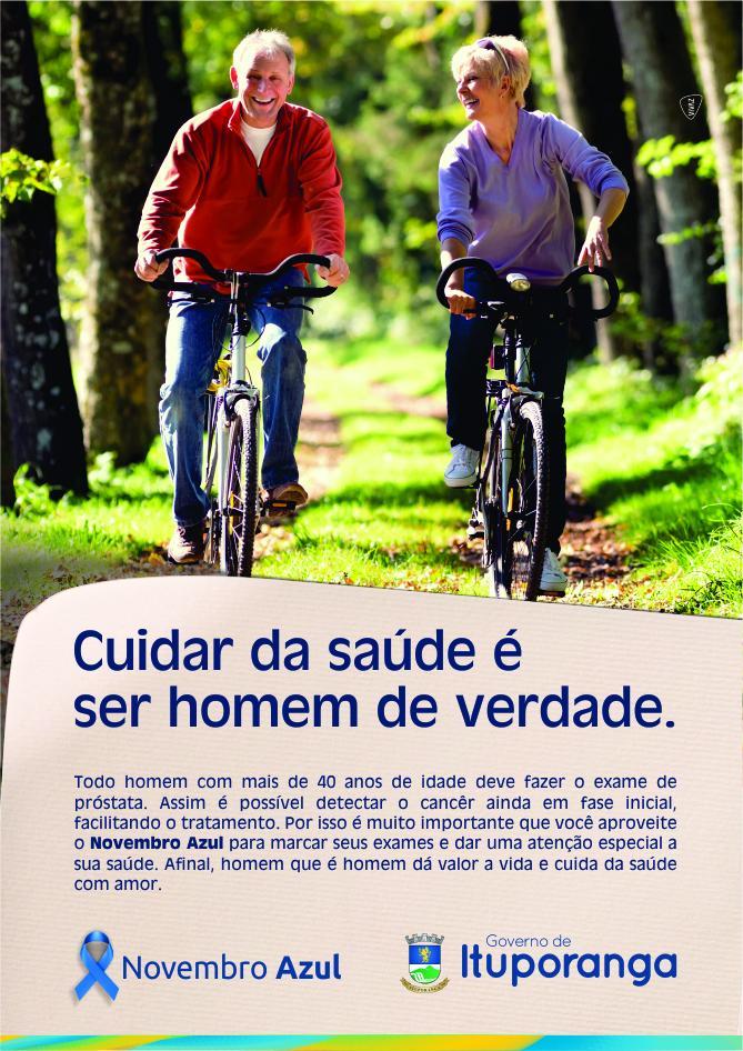 """Secretaria de Saúde de Ituporanga promoverá palestras em alusão à campanha """"Novembro Azul"""""""