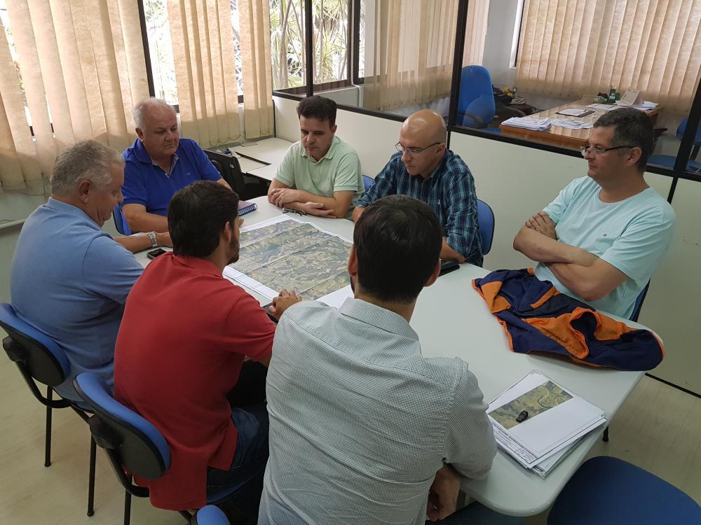 Deinfra apresenta prévia de trajeto do Contorno Viário Norte para setor de Planejamento