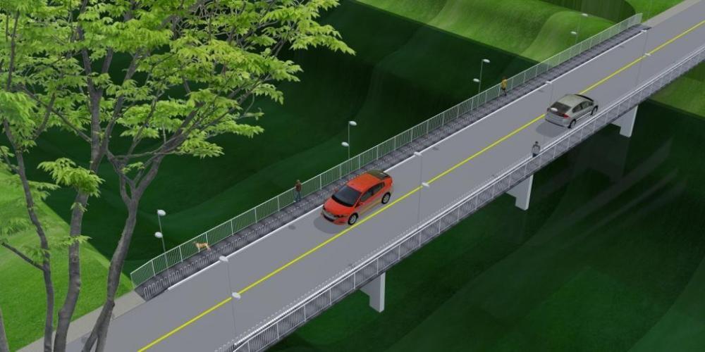 Ponte Irineu Bornhausen em Ituporanga ganhará passarelas para pedestres e ciclistas