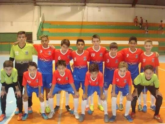 Sub 13 de Ituporanga vence e avança no Campeonato Estadual de Futsal