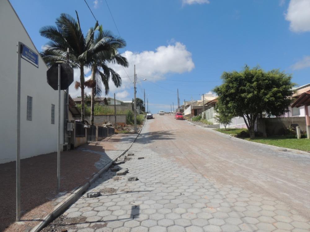 Prefeitura de Ituporanga conclui mais uma rua no bairro Girassol