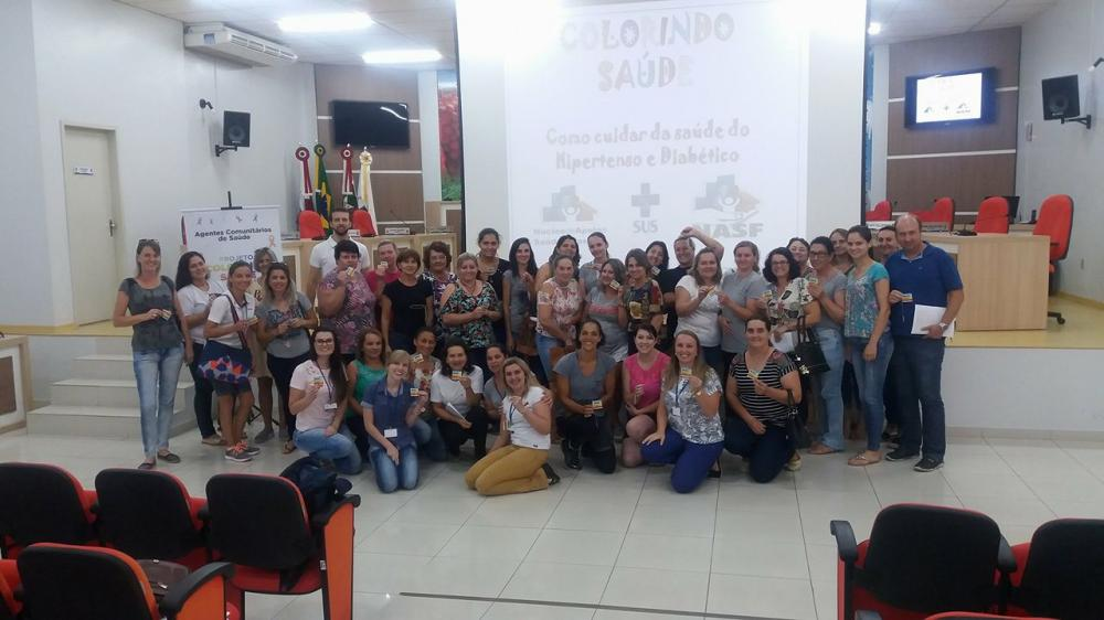 Projeto Colorindo Saúde de Ituporanga planeja ações com a comunidade