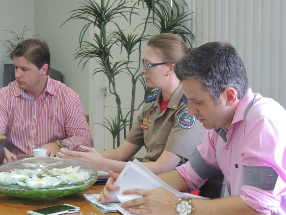 Comissão da Festa da Cebola se reúne com Corpo de Bombeiros