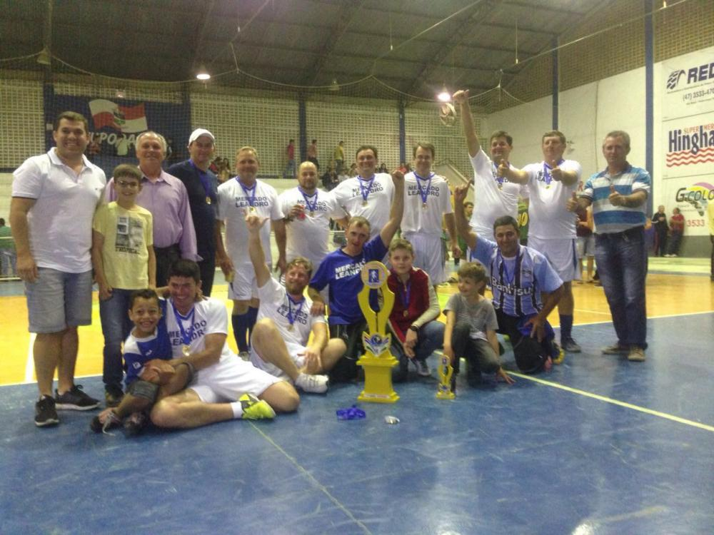 Definidos os campeões do Integração Rural de Ituporanga
