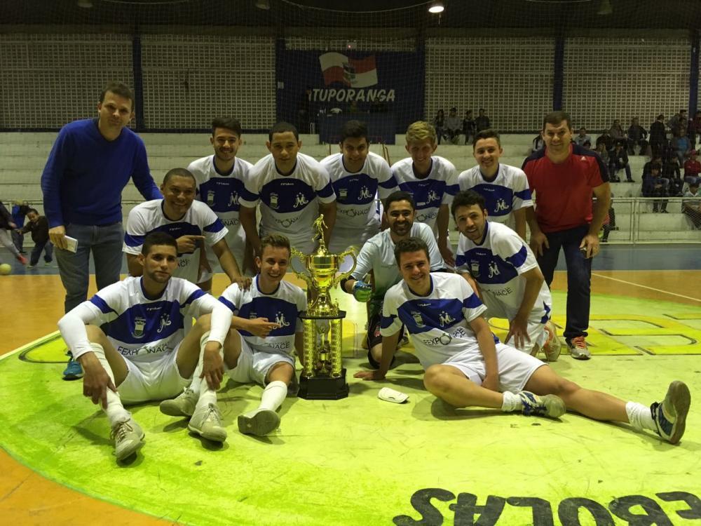 Moitas conquista título da Liga Regional de Futsal