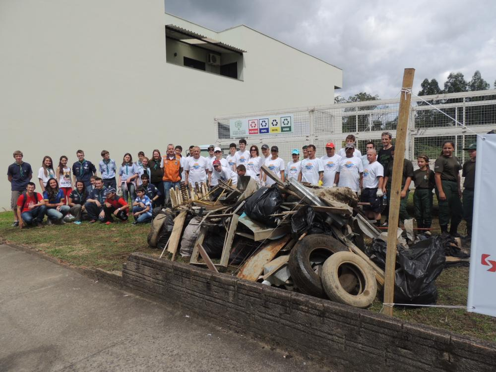 Mutirão de limpeza será realizado no Rio Itajaí do Sul, em Ituporanga