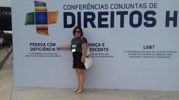 Representante de Ituporanga participa da Conferência Nacional dos Direitos da Pessoa com Deficiência