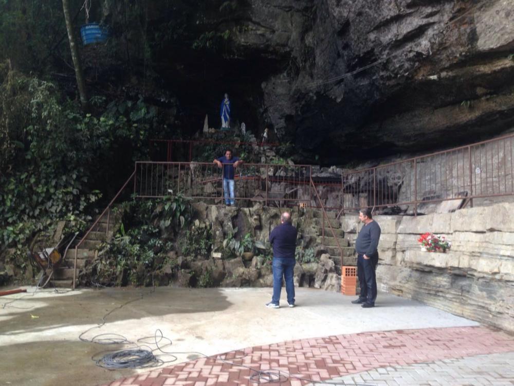 Revitalização da gruta de Ituporanga contempla natureza e oferece segurança aos turistas