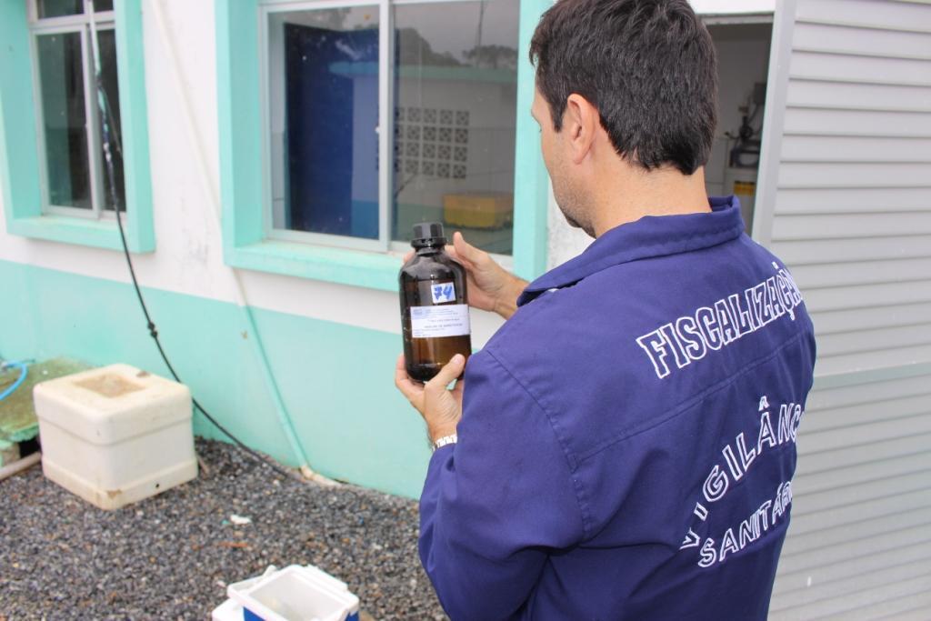 Vigilância Sanitária de Ituporanga realiza constante análise da água