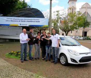 Prefeitura adquire novos veículos para a Saúde