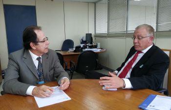 Prefeito de Ituporanga cumpre agenda em Brasília