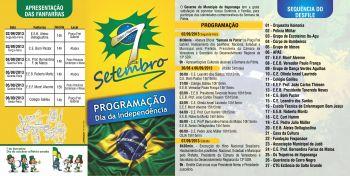 Semana da Pátria tem programação definida em Ituporanga