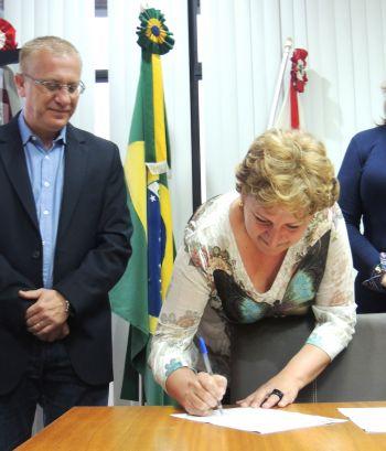 Secretária de Assistência Social toma posse em Ituporanga