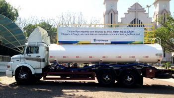 Prefeitura de Ituporanga adquire tanque-pipa