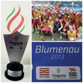 Futebol de Ituporanga se classifica para fase estadual do JASC