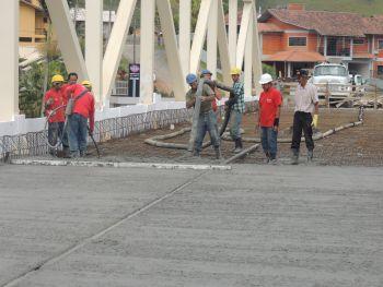 Nova ponte: construção entra na reta final