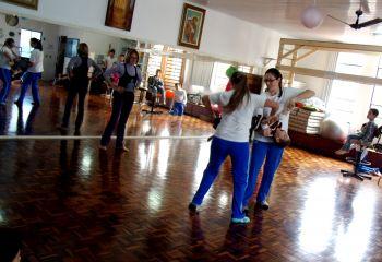 Pais ituporanguenses visitam escola especial em Brusque