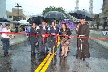 Inaugurada a nova ponte Vitório Sens