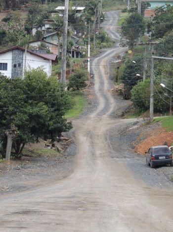 Prefeitura de Ituporanga inicia pavimentação da Rua Francisco Machado