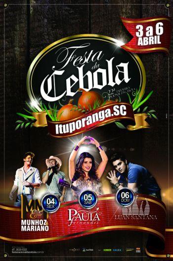 Festa Nacional da Cebola deve atrair mais de 100 mil visitantes