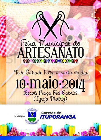Prefeitura promove Feira Municipal do Artesanato em Ituporanga