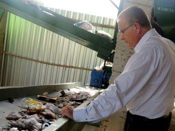 Ituporanga implanta projeto pioneiro no Brasil para processamento de resíduos sólidos domiciliares