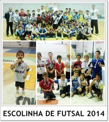 Campeonato movimenta atletas das escolinhas de futsal