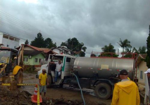 Administração de Ituporanga busca soluções para problema de alagamentos