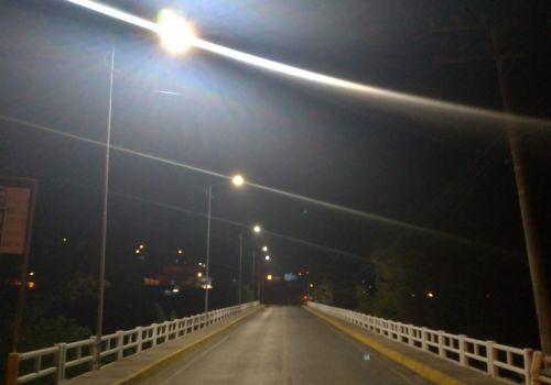 Administração investe R$ 54 mil em nova iluminação para as pontes no centro de Ituporanga