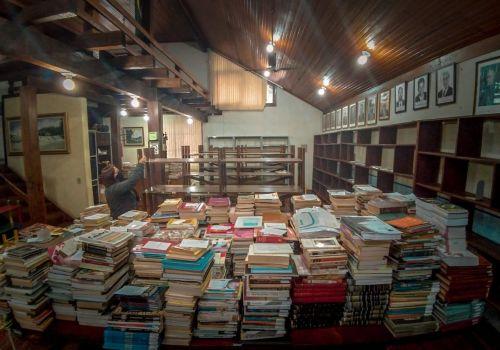 Biblioteca Pública passa por reformas
