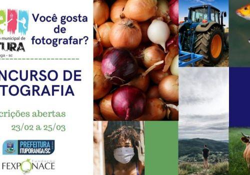 Concurso de Fotografia será realizado em Ituporanga