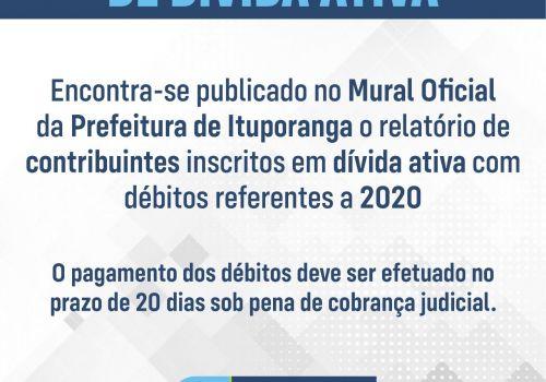 Contribuintes têm 20 dias para pagar mais de R$ 1 milhão em divida ativa em Ituporanga
