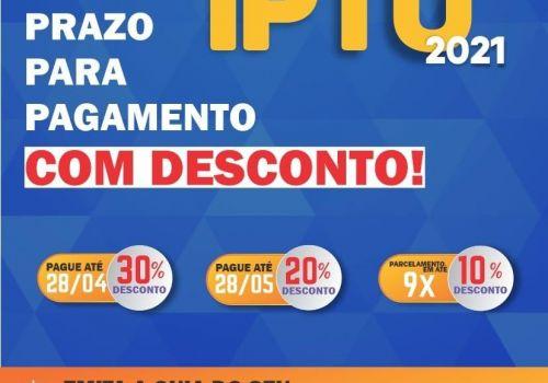 Encerra dia 28 o prazo para pagamento do IPTU com 30% de desconto em Ituporanga