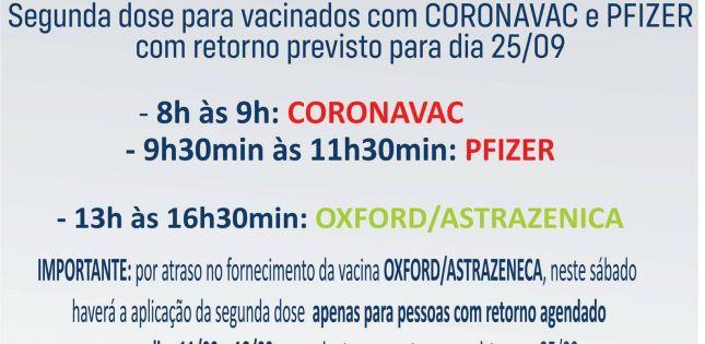Falta de vacinas atrasa aplicação de segunda dose da OXFORD/ASTRAZENICA em Ituporanga