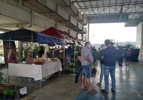 Mais de 3  mil pessoas prestigiaram o 2º Feirão de Mudas Frutíferas, Ornamentais e Artesanato