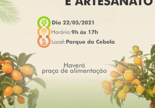 Mais de 30 expositores estão confirmados no 1º Feirão de Mudas Frutíferas, Ornamentais e Artesanato