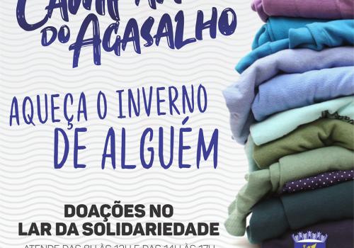 Lar da Solidariedade de Ituporanga lança Campanha do Agasalho 2019