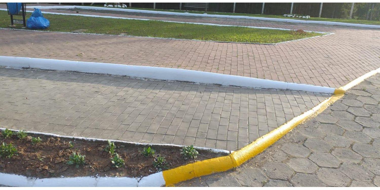 Prefeitura faz repintura de sinais de trânsito