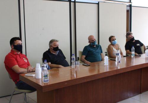 Reunião  do Comitê de Gerenciamento da Pandemia COVID-19 e Representantes de Bares e Restaurantes